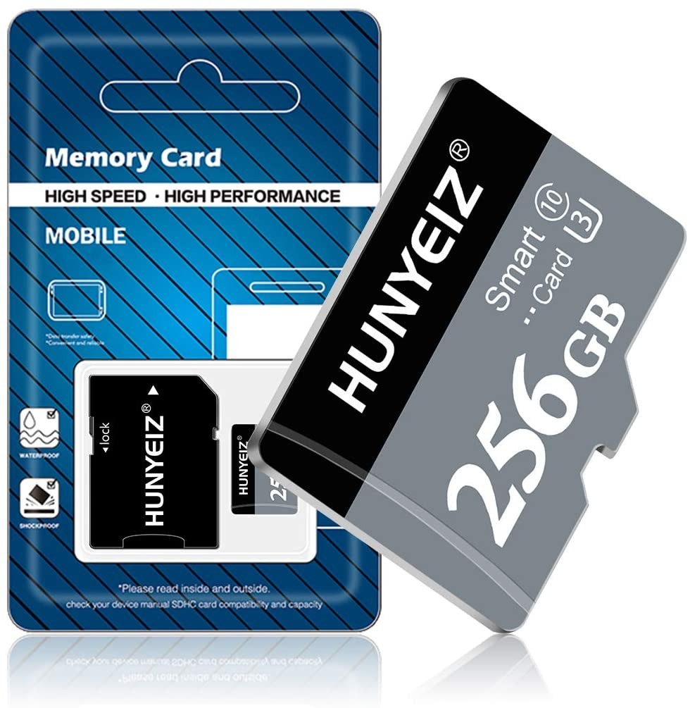 256GB MICRO SD MEMORY CARD 256GB MICRO SD CARD TF CARD 256GB CLASS 10 A FREE SD CARD ADAPTER FOR 안드로이드 CELLPHONE CAMERA TACHOGRAPH TABLET COMPUTERS DRONE(256GB)