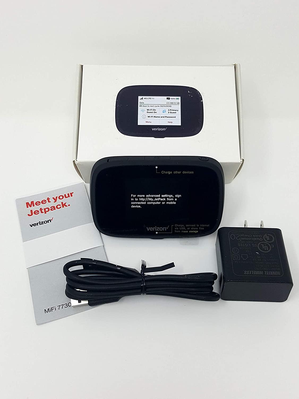 노바텔 버라이존 무선 제트팩 7730L 4G LTE 고급 모바일 핫스팟