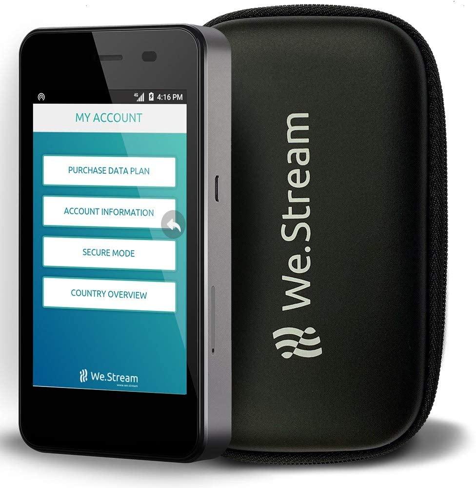 우리는 국제 여행자를위한 프리미엄 모바일 와이파이 핫스팟을 스트리밍 - 50 GB 미국 데이터 - 데이터 3 개월 유효 - 여러 미국 네트워크 - 150 개 이상의 국가 - MIFI - 터치 스크린 - 4G LTE - 파워 뱅크 ..