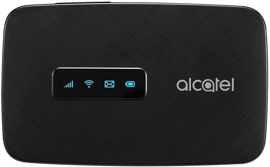 알카텔 링크존 | 모바일 와이파이 핫스팟 | 4G LTE 라우터 MW41TM | 최대 150MBPS 다운로드 속도 | WIFI는 최대 15대의 장치 | 연결합니다. | 어디서나 WLAN 만들기 T-모바일