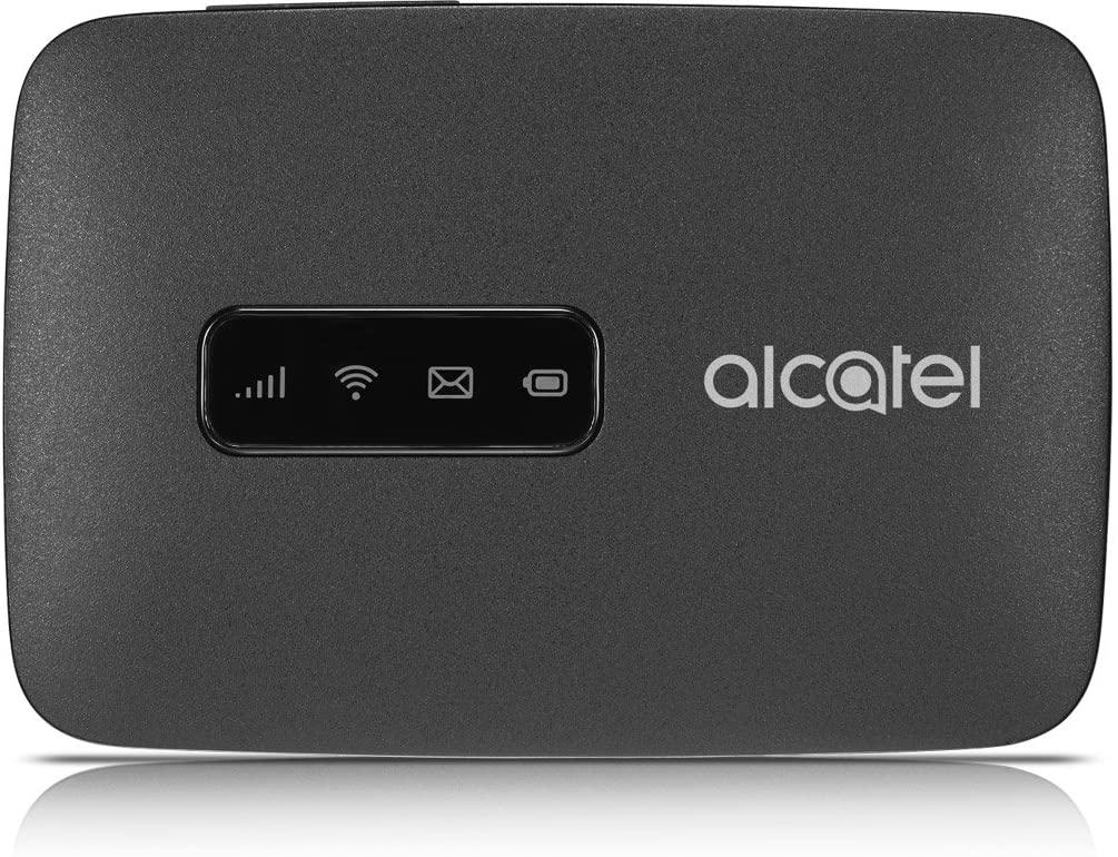 알카텔 링크존 | 모바일 와이파이 핫스팟 | 4G LTE 라우터 MW41TM | 최대 150MBPS 다운로드 속도 | WIFI는 최대 15대의 장치 | 연결합니다. | 어디서나 WLAN 만들기 GSM 잠금 해제