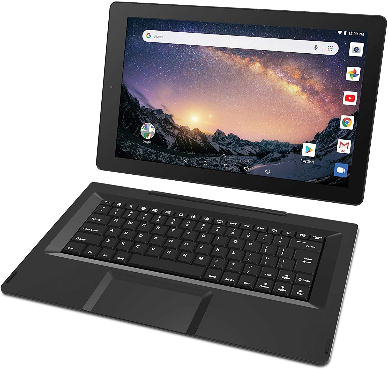 RCA 갈릴레오 11.5 32GB 터치 스크린 태블릿 컴퓨터 키보드 케이스 쿼드 코어 1.3GHZ 프로세서 1GB 메모리 32GB HDD 웹캠 WIFI 블루투스 안드로이드 6.0-CHARCOAL