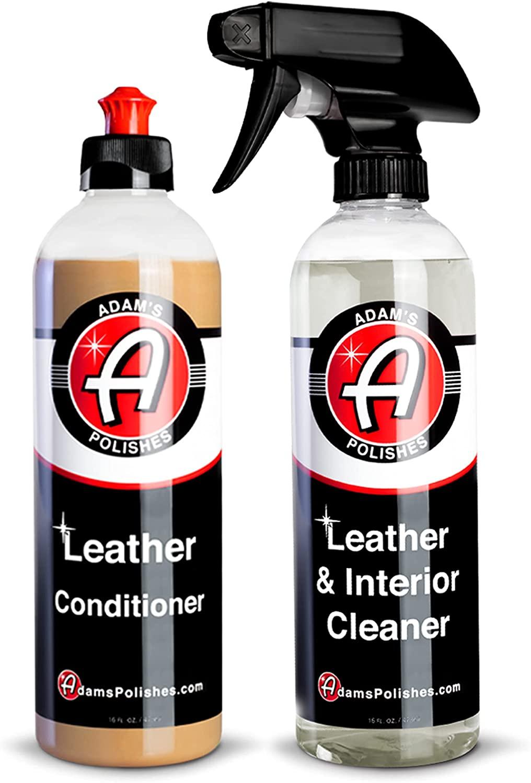 아담의 가죽용 키트-가죽 세탁기술자&가죽어컨 자동차 청소용품|을 위한 UV 보호를 인테리어 액세서리 스티어링 휠의 좌석 대시 비닐 구두 폴란드어 재킷|안전한 자동 화학