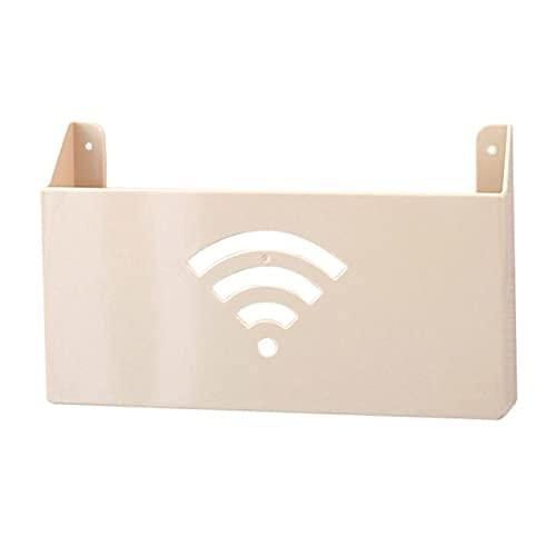 KDRICH 홈 창조적인 벽 마운트 와이파이 라우터 저장 상자 선반 WIFI 저장 상자는 주최자-(COLOR:C)(색상:D | 중국)