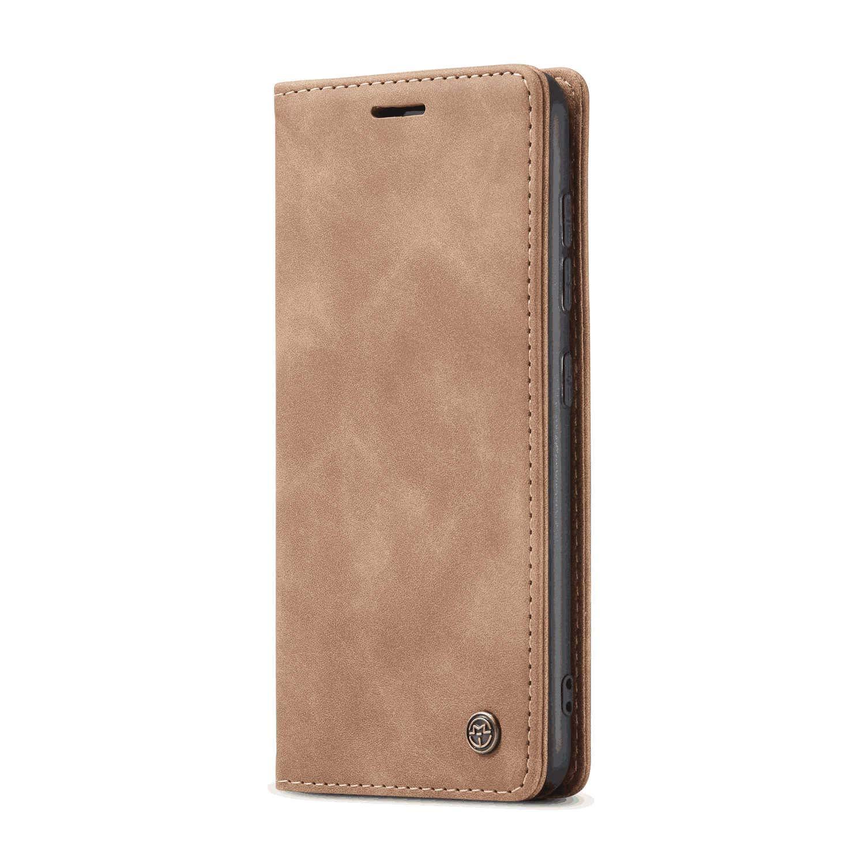 삼성 갤럭시 A70S 카드 홀더에 맞는 가죽 플립 케이스 삼성 갤럭시 A70S 에 대한 추가 보호 킥 스탠드 지갑 커버