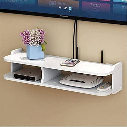 KDRICH 와이파이 라우터 저장 상자 브래킷 케이블 이끌 무선 벽 플러그인 보드 PVC 패널 선반 가정 장식-(COLOR:C)(COLOR:C | 중국)