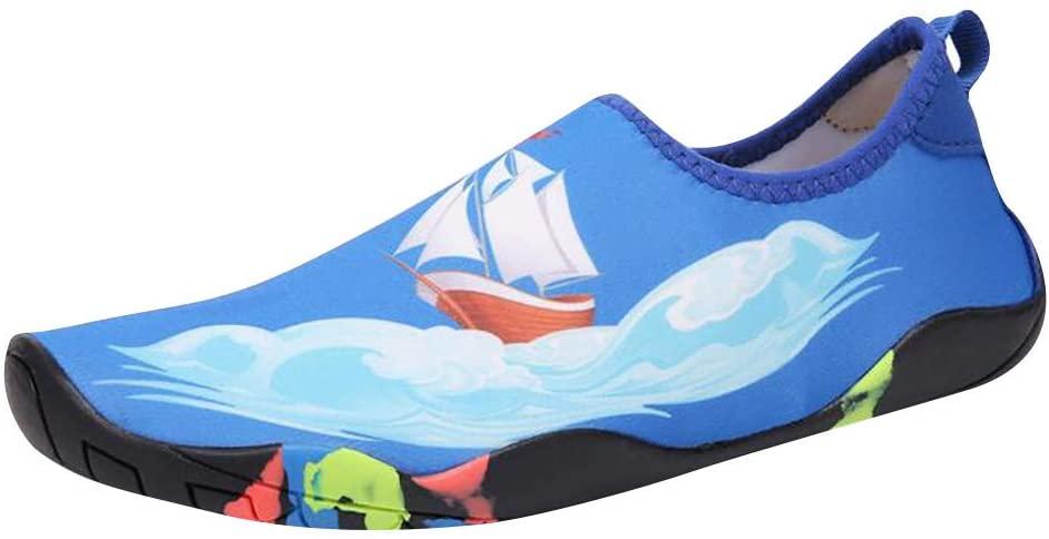 아이 여자와 망 클래식 맨발 물 스포츠 피부 신발 아쿠아 양말 비치 수영 서핑 요가 운동