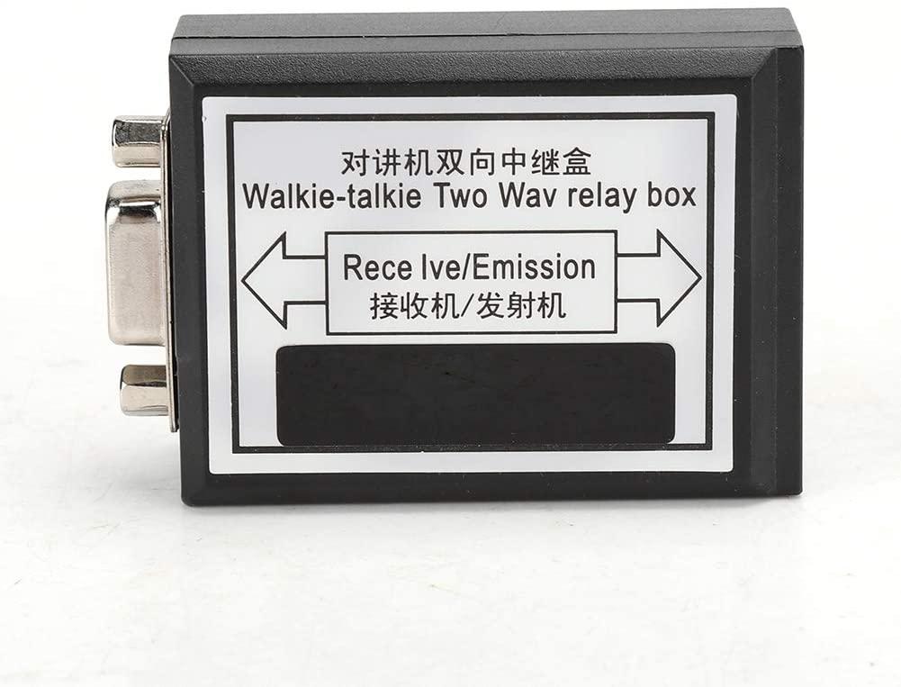 ESENLONG 양용 라디오 릴레이 상자 K 플러그 양방향 릴레이로 업그레이드 플러그 앤 플레이의 소형 라디오 워키토키 리피터 상자