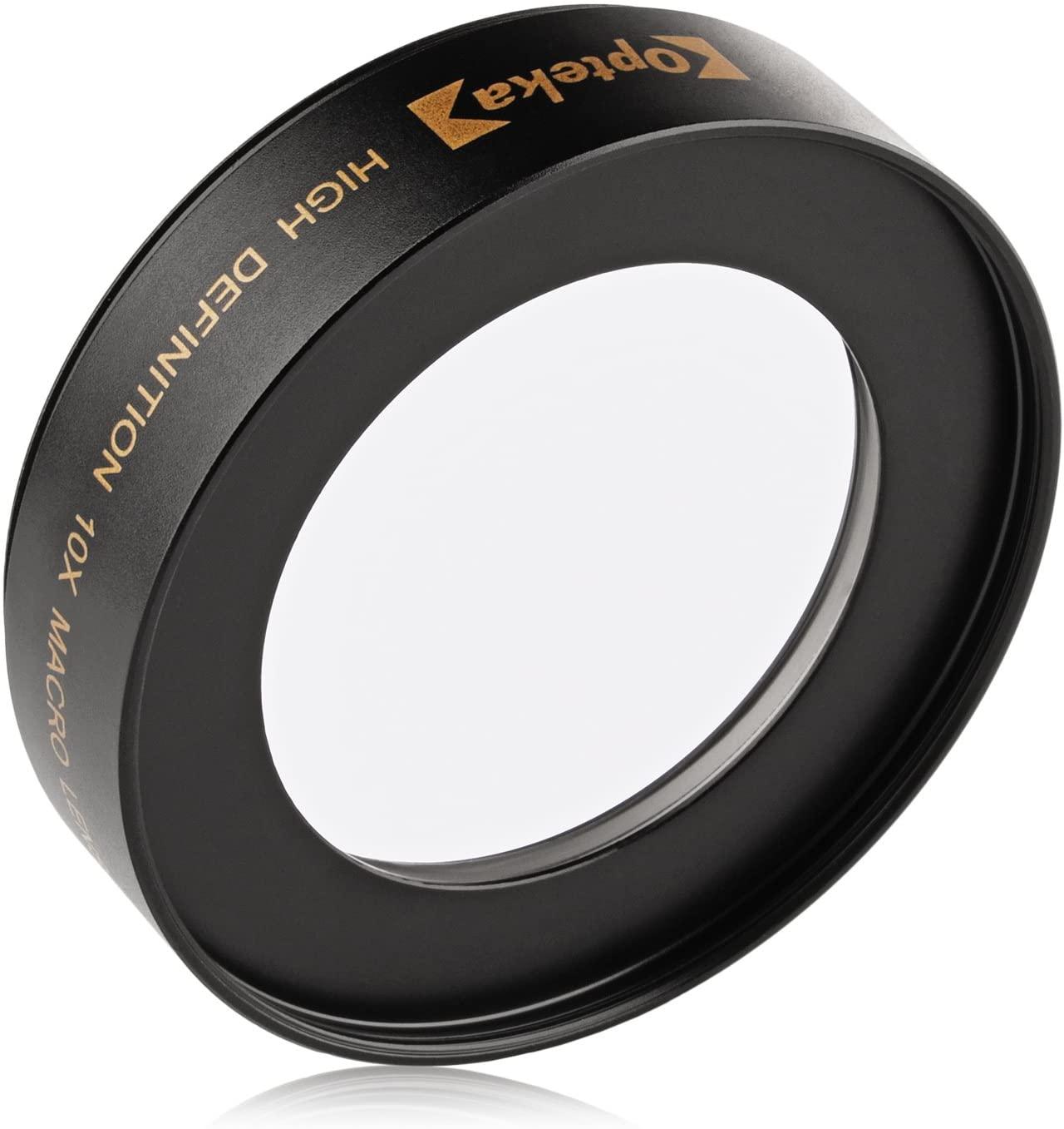 E-마운트 A7R A7S A7 A6300 A6000 A5100 A5000 A3000 NEX-7 6 5T 5N 5R 디지털 카메라(40.5MM 5MM) 및 5MMS 렌즈용 옵테카 ACHROMATIC 10X 디옵터 클로즈업 매크로 렌즈