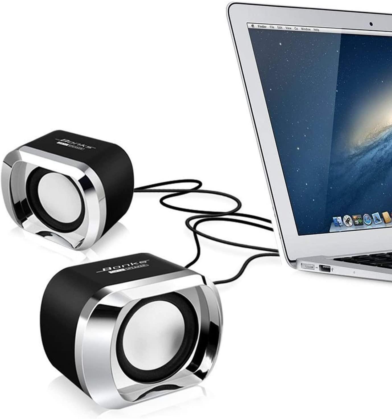 USB 2.0 노트북 스피커 데스크탑 노트북 노트북용 유선 스테레오 미니 컴퓨터 스피커