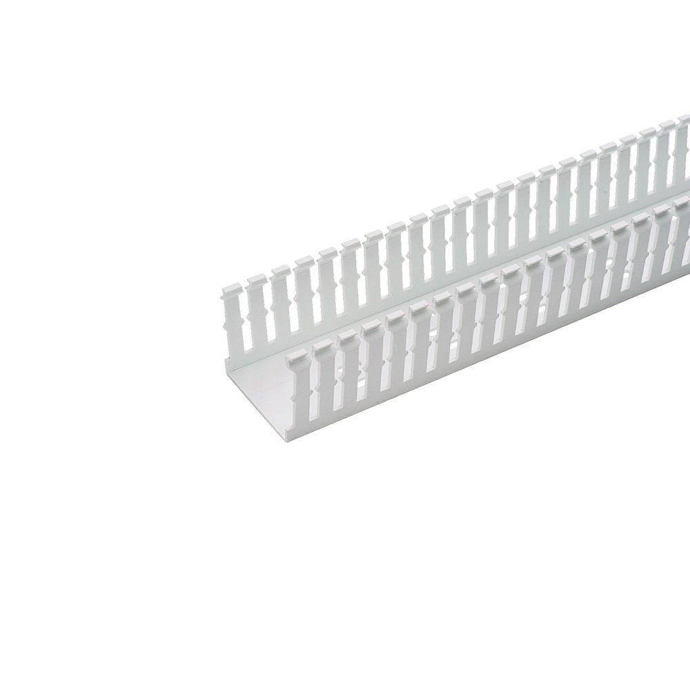 PANDUIT F1X1WH6 TYPE F NARROW SLOTTED DUCT PVC WHITE