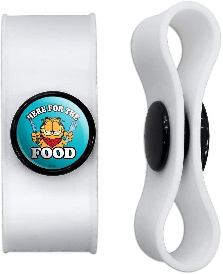 식품 헤드폰 이어버드 코드 랩을 위한 그래픽 및 더 많은 가필드 - 충전 케이블 관리자 - 와이어 오거나이저 세트 2