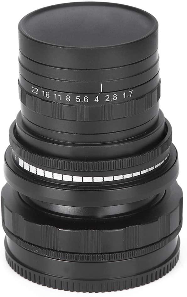 후지 미러리스 카메라용 홉CD 50MM F1.7-F22 FX 마운트 틸트 시프트 렌즈 옵티컬 글래스 매뉴얼 초점 풀 프레임 렌즈 | 틸트 시프트 렌즈(블랙)