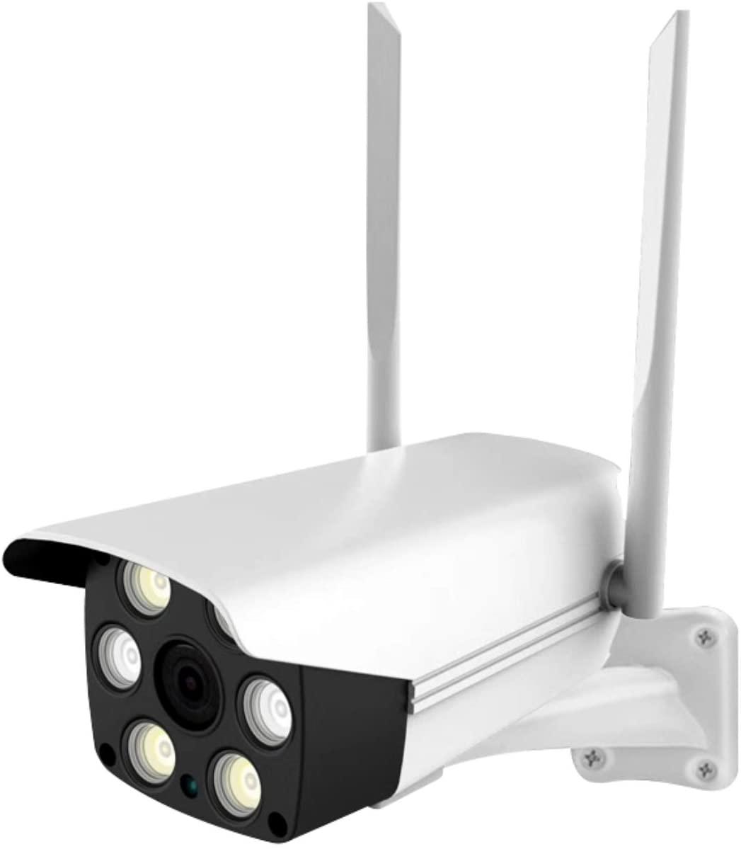 EVEREXCEED 홈 시큐리티 카메라 1080P HD 야외 와이파이 감시 카메라 스마트 IP 캠 야간 비전 | 모션 감지 | 클라우드 | 마이크로 SD 녹음 | 2.4GHZ WIFI | 네트워크 인터페이스 | 배터리 없음