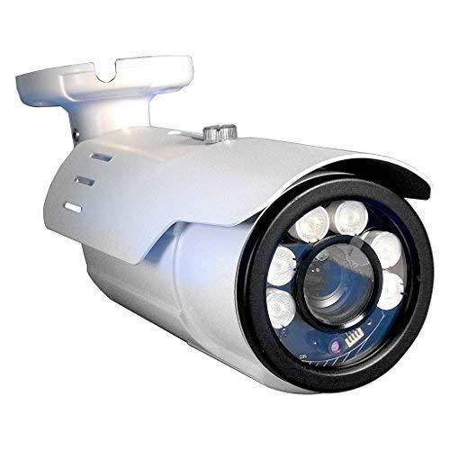 장거리 전동 VF 번호판 2 메가 픽셀 2MP 1080P AHD TVI CVI 블랙 총알 카메라 | 5-50MM 변성 10X 광학 렌즈 260FT의 적외선 및 조절 가능한 셔터 속도 IR (IP 카메라가 아님)