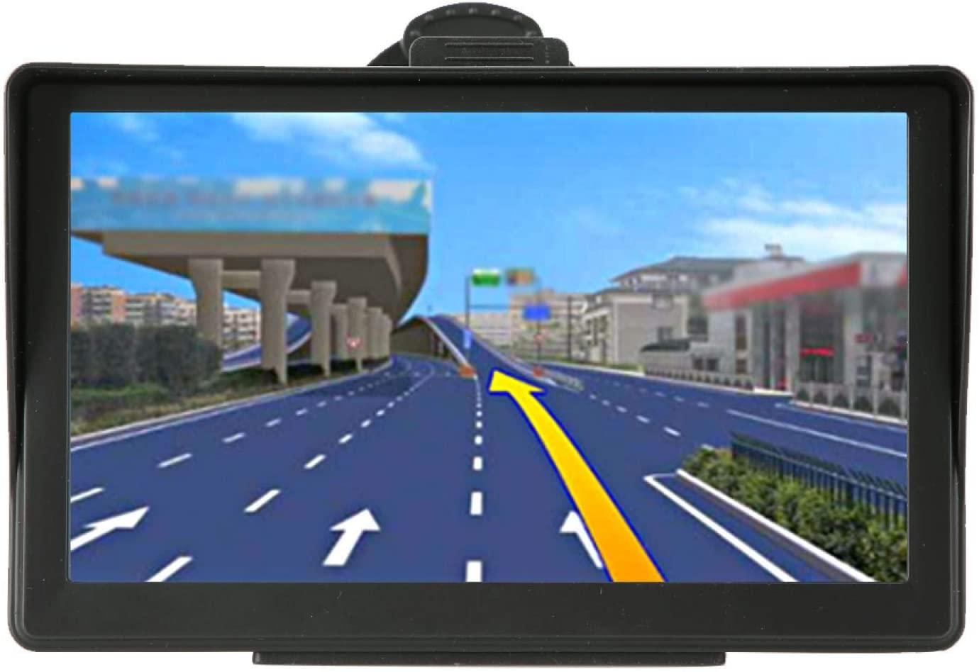 ASIXXSIX VOICE GPS GPS NAVIGATION TOUCH SCREEN LIGHTWEIGHT REAL VOICE FOR TOLL ROADS UNPAVED ROADS FERRIES GENERAL PURPOSE