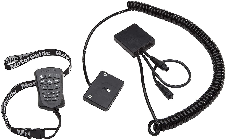 모터 가이드 8M0092070 XI 시리즈 핀포인트 플러그 앤 플레이 GPS 네비게이션 시스템 핸드헬드 리모컨 베이지 블랙
