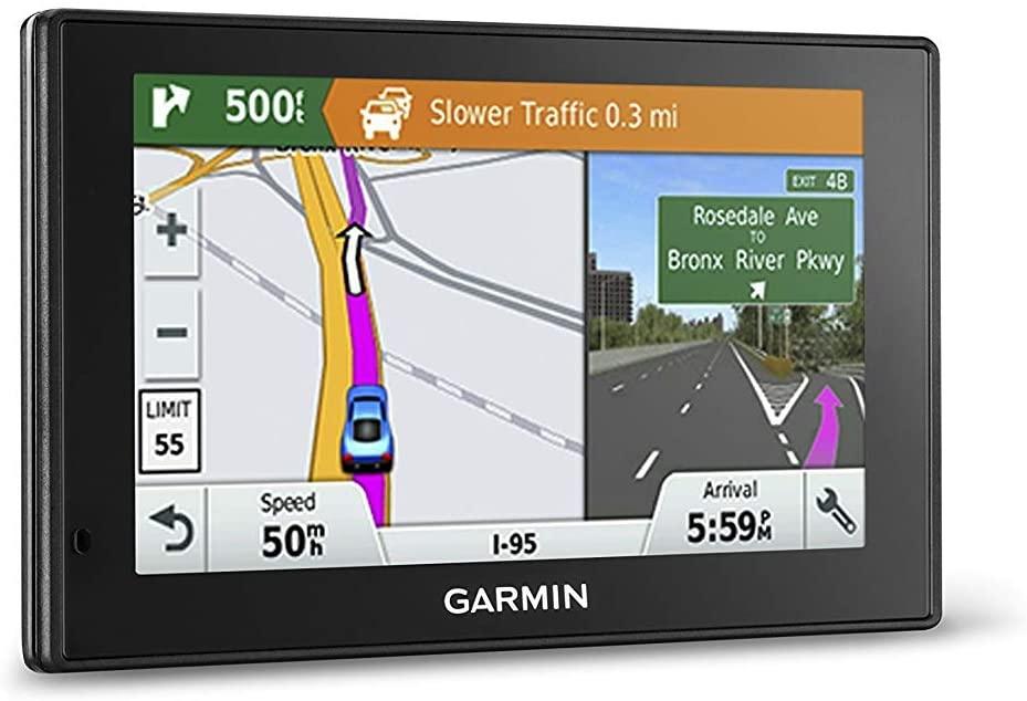 평생 교통 및지도 업데이트가있는 가민 드라이브 스마트 50LMT GPS 네비게이터 5 인치 (갱신)