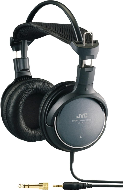 JVC HARX700 정밀 사운드 풀 사이즈 헤드폰 - 블랙
