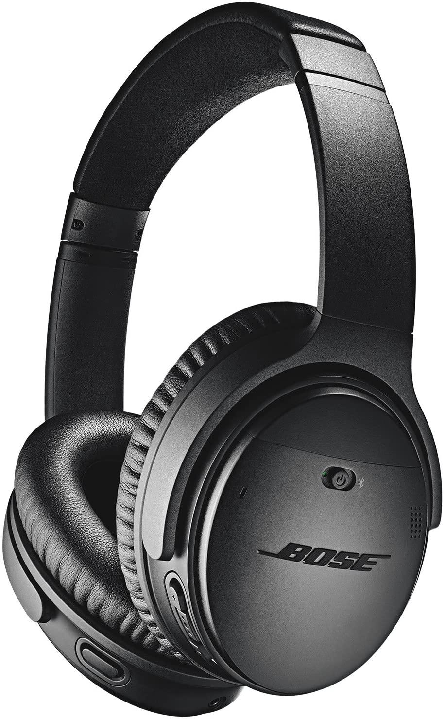 보스 QUIETCOMFORT 35 (시리즈 II) 무선 헤드폰 노이즈 캔슬링 - 블랙 (리뉴얼)