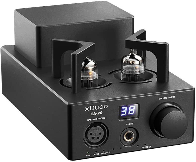 XDUOO TA-20 고성능 밸런스드 튜브 헤드폰 앰프 파워 앰프(검정색)