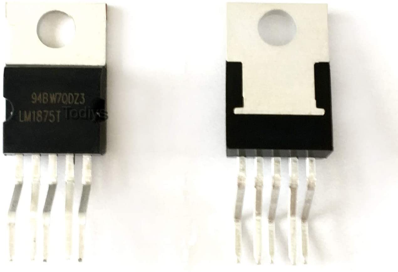 TODIYS LM1875T TO-220-5 오디오 전력 증폭기 IC LM1875 용 새로운 15PCS
