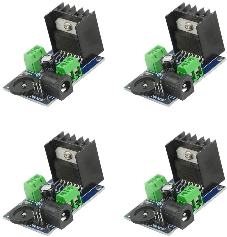 WMYCONGCONG4 개 TDA7297 오디오 전력 증폭기 모듈 DC6-18V15W+15W 이중-채널 스테레오 앰프 보드 사운드 시스템 DIY