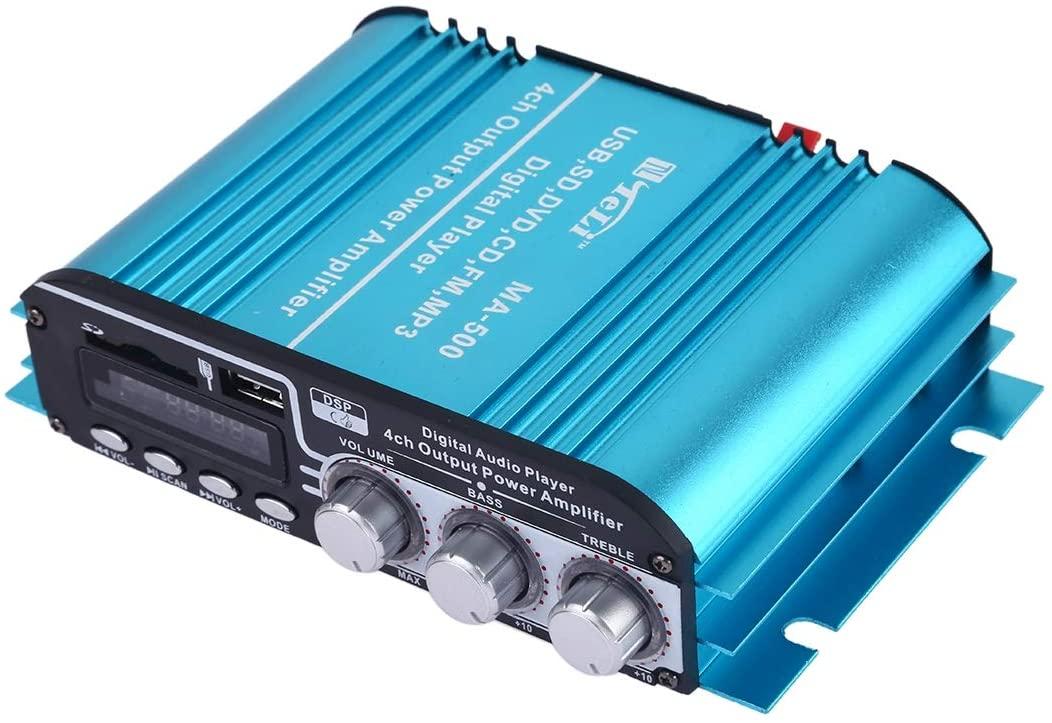 XZS-상점 STEREOPHONY 디지털 재생 전력 증폭기 원격 제어 지원 MP3 | SD | USB | FM | CD | VCD | MP3
