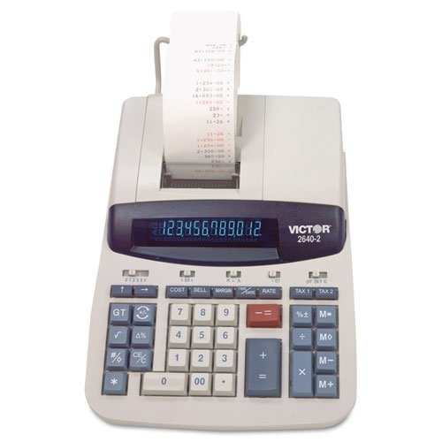VCT26402 - 빅터에 의해 2640-2 두 가지 색상 인쇄 계산기