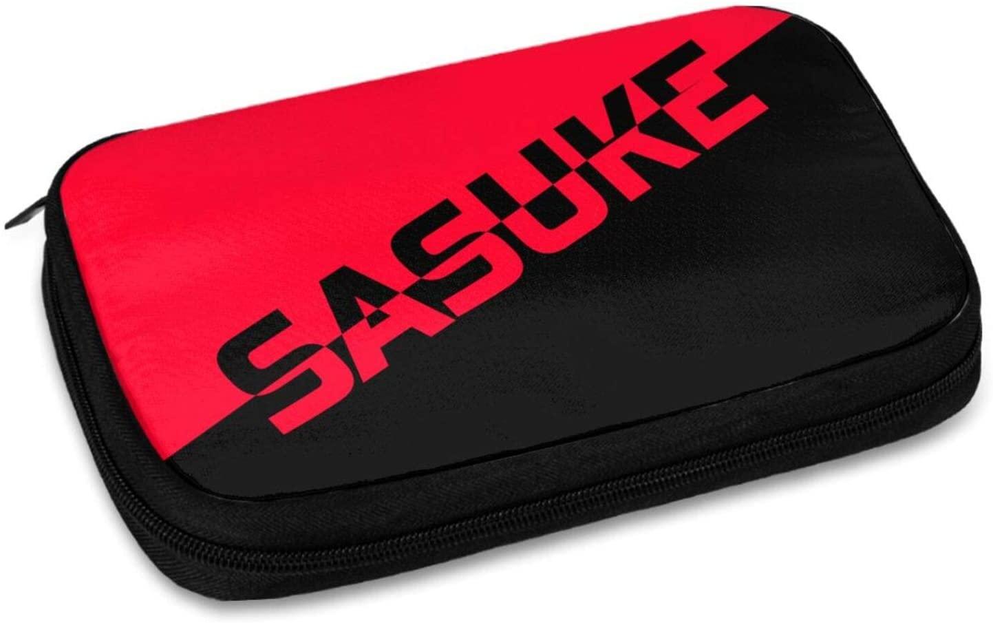 나루토 전자 주최자 소형 여행 케이블 오거나이저 가방 하드 드라이브 전화 USB SD 카드 충전 케이블용 저장 전자 액세서리 케이스 휴대 전화 미니 태블릿 (9.4X6.56`)
