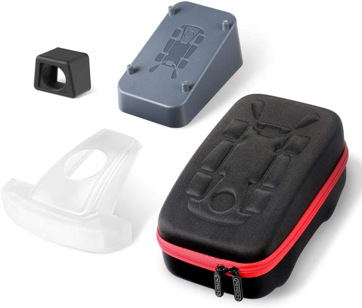 마리오 카트 라이브 보호 케이스 카트 마운트 홀더 카트 헤드 및 AR 렌즈 커버 액세서리 키트와 호환 LANMU 운반 케이스
