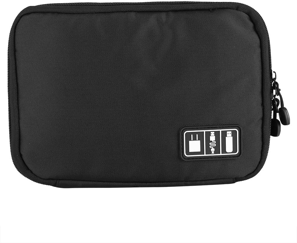 JACKSKING DIGITAL STORAGE BAG PORTABLE DIGITAL ACCESSORIES USB CABLE POWER BANK EARPHONE TRAVEL STORAGE ORGANIZER BAG ( )