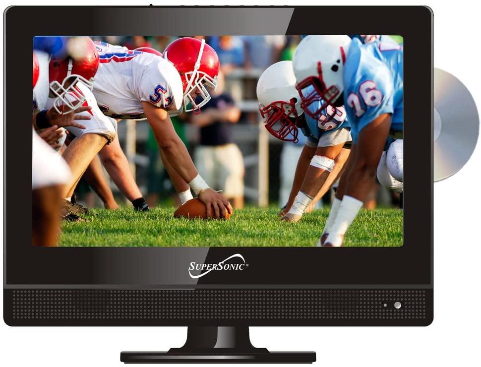 초음속 SC-1312 13.3와이드 스크린 LED HDTV 내장 DVD 플레이어