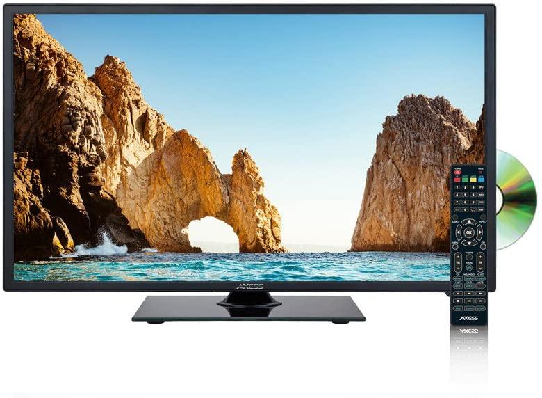 AXESS19 인치 LED720P HDTV DVD 콤보 1XHDMI 헤드폰 입력 DVD 플레이어 원격 19.75IN. 엑스 13.75...에서. 엑스 6.75...에서