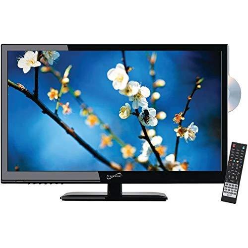 초음속 SC-2412 24 1080 마력 LED TV | DVD 조합 AC | DC 호환 RV | 보트
