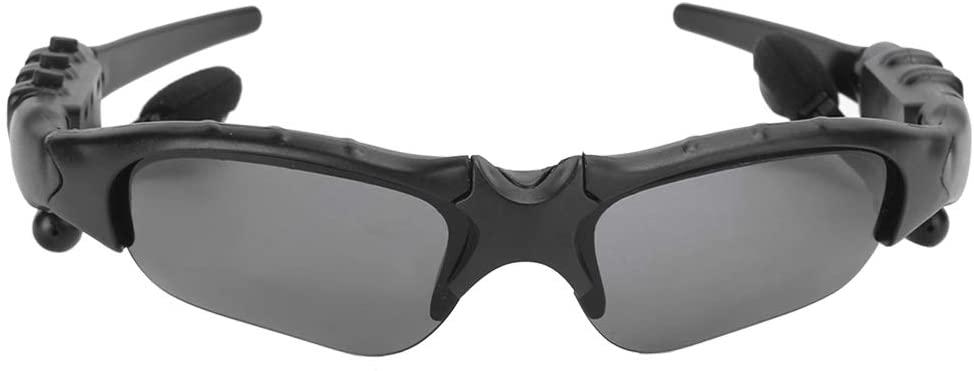 S 에로언더 무선 블루투스 선글라스 음악 선글라스 헤드셋 블루투스 안티 UV400 휴대 전화의 모든 종류에 대 한 스테레오 이어폰과 편광 안경 (노란색)