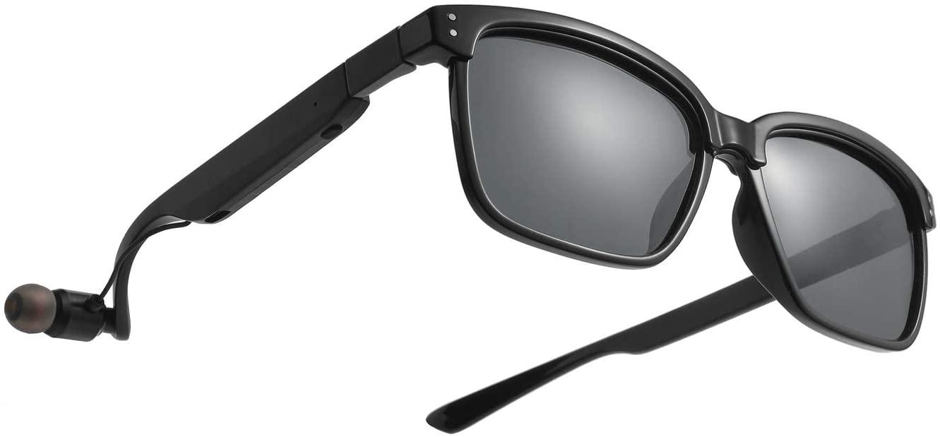 스마트 블루투스 안경 OKH 무선 선글라스 헤드셋 핸즈프리 콜링 모든 스마트 기기 교체 렌즈 유니섹스 편광 웨어러블 블루투스 헤드폰 선글라스