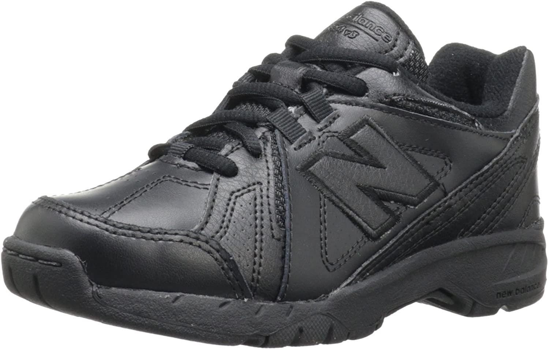 뉴 밸런스 KX624 유니폼 트레이너(작은 아이 | 큰 아이) 블랙 5.5XW 미국 큰 아이(단종)