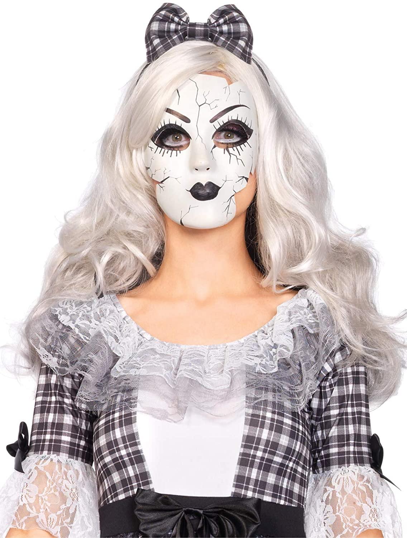 레그 애비뉴 여성 용 인형 마스크 의상 액세서리