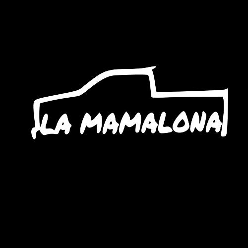 VDC | 라 마말로나 트럭 화이트 비닐 카 | 노트북 | 윈도우 | 월 데칼