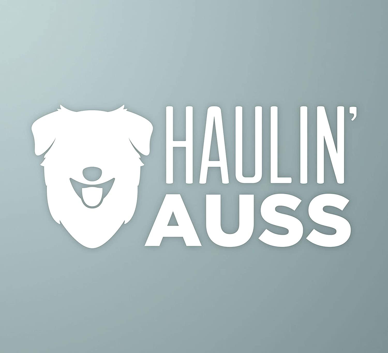 하울린 |의 오스트레일리아 셰퍼드 개 비닐 데칼