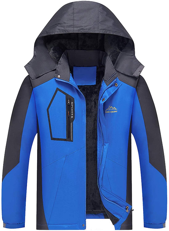남성용 따뜻한 재킷 다기능 자전거 재킷 탈착식 후드 양털 방풍 운동 스포츠 의류