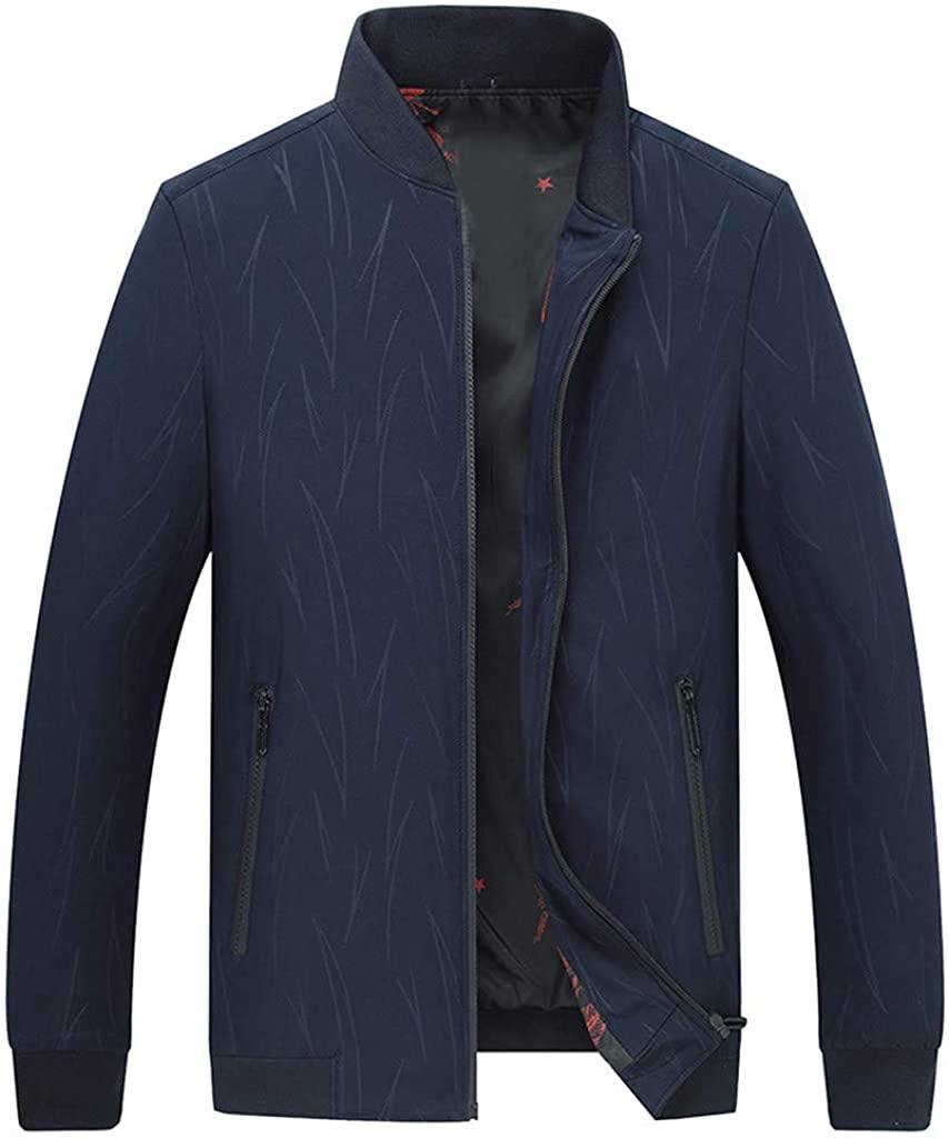 남성 캐주얼 슬림 피트 얇은 경량 폭격기 자켓 야외 스포츠웨어 윈드 브레이커 코트