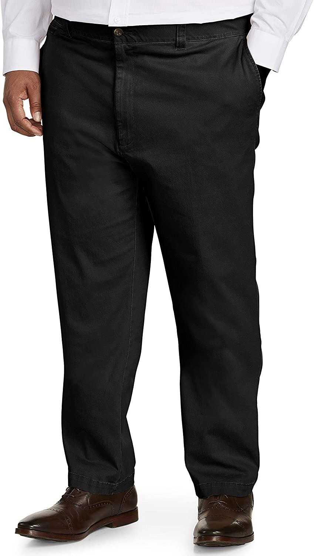 아마존 에센셜 남성 빅 & 키가 큰 운동 캐주얼 스트레치 카키 팬트 핏 에 의해 DXL