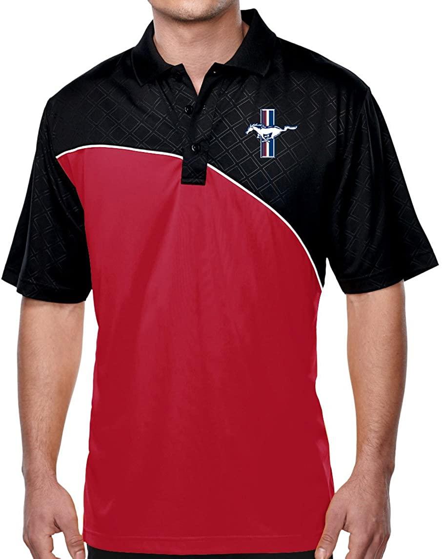 시원한 셔츠 남성 포드 머스탱 GT 엘리트 폴로 셔츠 구매