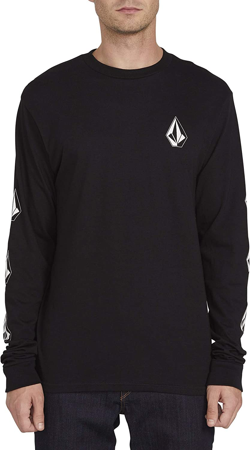 VOLCOM MEN`S DEADLY STONES LONG SLEEVE T-SHIRT