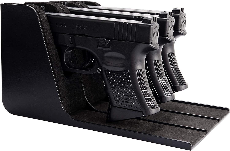 ADOREAL 권총 랙 총 홀더는을 위한 권총 안전 총 저장 총 안전 액세서리 총 랙 총 안전 ORGANIZER