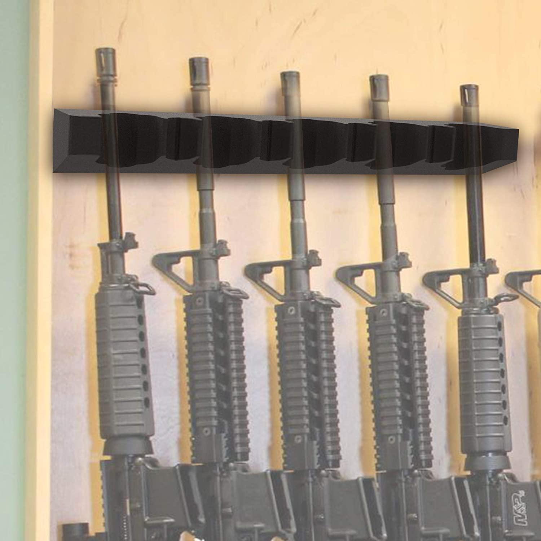 튼튼한 거품 소총 배럴 선반을 위한 스택에서는 총 캐비닛 유니버설 총 옷걸이와 함께 마그네틱 스트립 및 나사 자기 안전 선반을 위한 금속 캐비닛 가정총 저장 선반 낚싯대 홀더