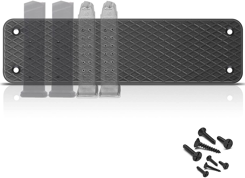 탄약 자석 MAG 홀더 8 권총 잡지 수용량 자기 탄약 저장소에서 침실 책 자동차와 트럭 TACTIAL 액세서리에 대한 권총 권총 금속 MAGS