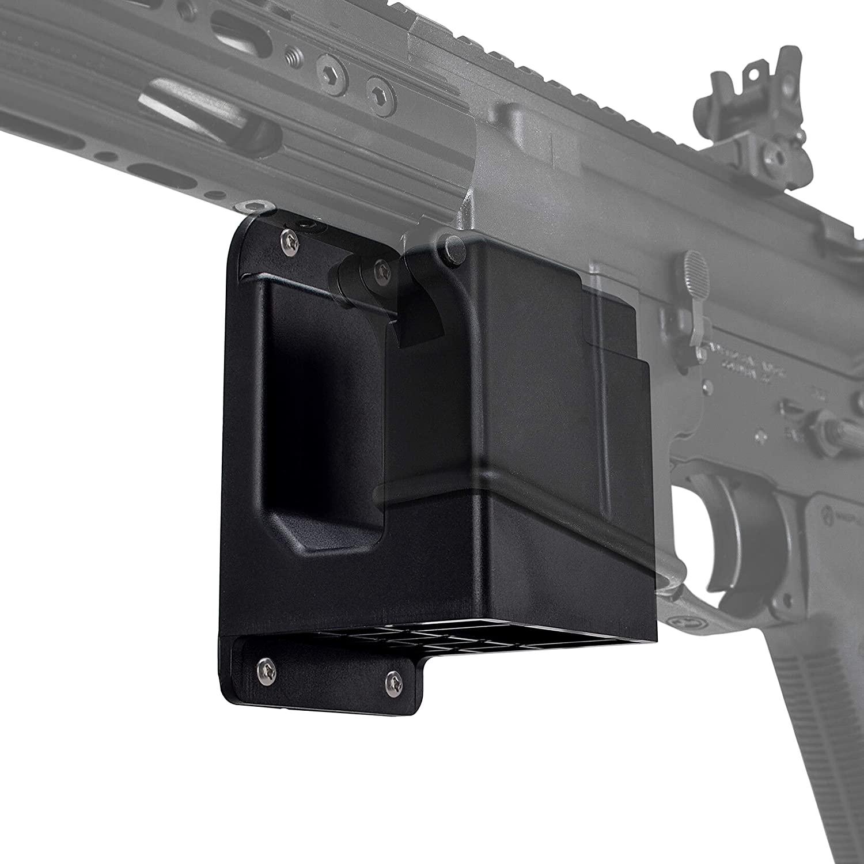 표준 소총 벽 총 선반 소총 부속품을 위한 ADOREAL 총 선반 벽 산